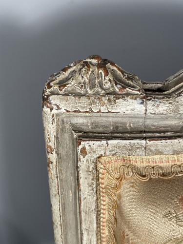Pair of chairs stamped G.JACOB, Paris Louis XVI period circa 1780 - Louis XVI