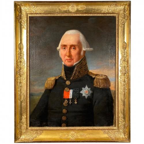Portrait of Marshal Kellermann by Robert Lefèvre 1818