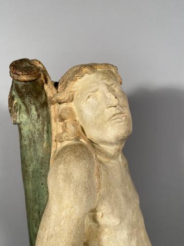 Renaissance - The statue of Saint Sebastian, Burgundy circa 1500