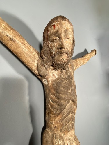 Sculpture  - Great Christ of procession, South West of France, late 14th century.