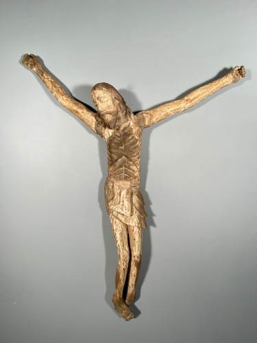 Middle age - Great Christ of procession, South West of France, late 14th century.
