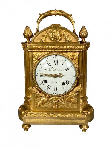 Officer clock, Paris Louis XVI period, circa 1780