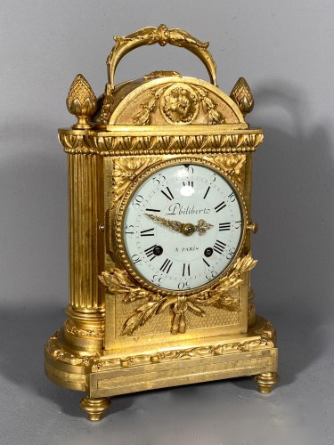 Officer clock, Paris Louis XVI period, circa 1780 - Clocks Style Louis XVI