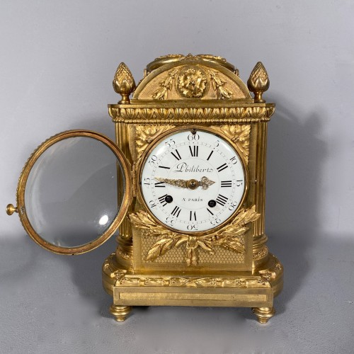 Officer clock, Paris Louis XVI period, circa 1780 - Louis XVI
