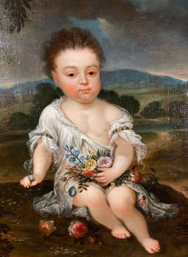 The Compte of Vermandois signed Mignard, Paris circa 1670. - Paintings & Drawings Style Louis XIV