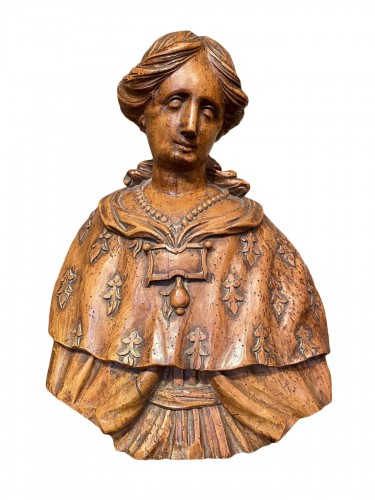 Reliquary bust of Anne de Bretagne, 17th century