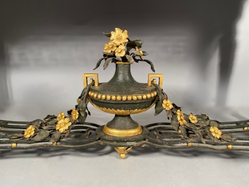 Furniture  - Wrought iron middle table, Provence early 19th century.