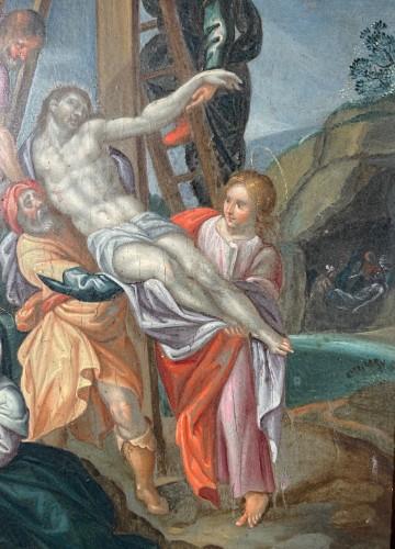 Paintings & Drawings  -  Deposition, Flemish school circa 1580