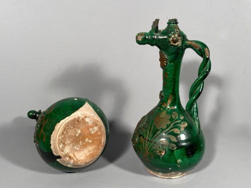 Antiquités - Pair of tall Demoiselle  d'Avignon circa 1840
