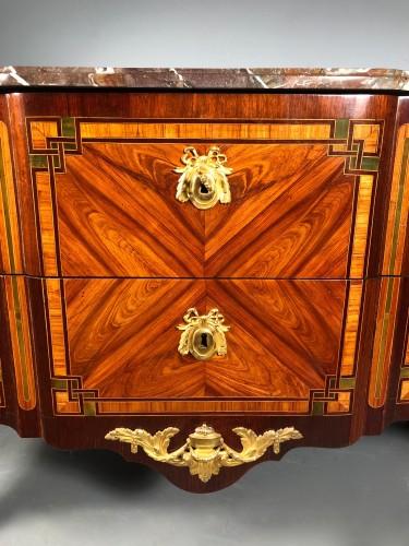 French 18th fine Greek commode, Paric circa 1700 -