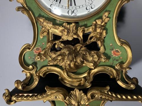 Clocks  - Alcove cartel with Martin varnish, Louis XV period, circa 1755