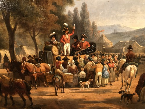 The charlatan - Jean François Demay (1798-1850) - Paintings & Drawings Style Louis-Philippe