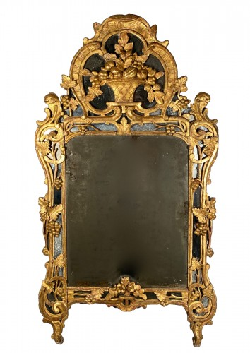 Mirror with gilt wood, Provence Louis XV period