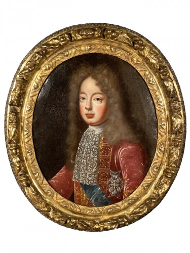 Portrait of the Grand Dauphin, French school 17th century