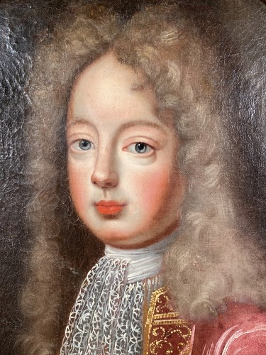 Paintings & Drawings  - Portrait of the Grand Dauphin, French school 17th century