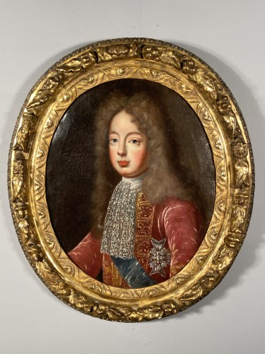 Portrait of the Grand Dauphin, French school 17th century -