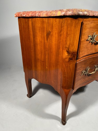 French 18th Walnut commode by Jean François Hache in Grenoble circa 1770 -