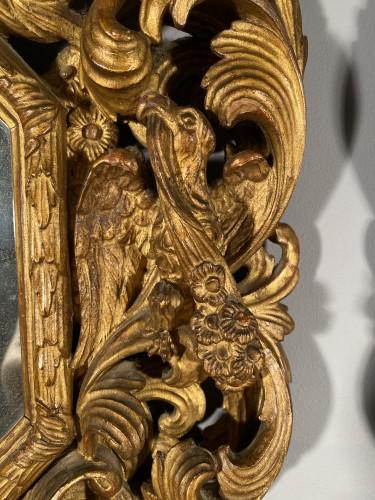 Mirrors, Trumeau  - Pair of gilt wood mirrors, Aix en Provence circa 1700