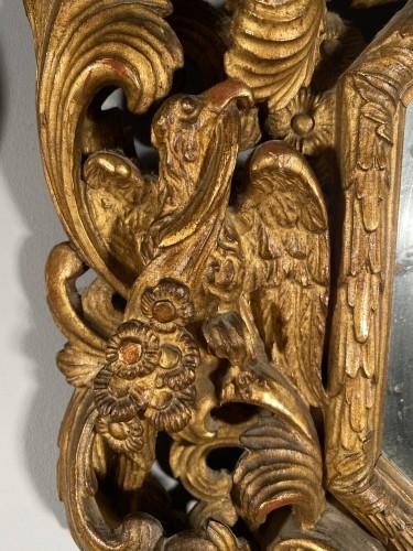 Pair of gilt wood mirrors, Aix en Provence circa 1700 -
