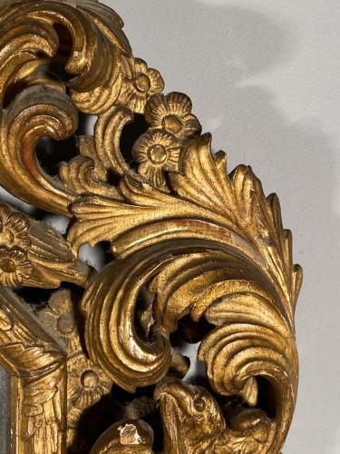 Antiquités - Pair of gilt wood mirrors, Aix en Provence circa 1700