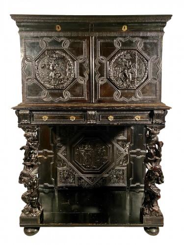 Ebony cabinet from the genesis scènes, Paris around 1640
