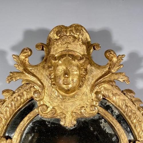 Mirrors, Trumeau  - French fine 18th mirror, Paris Louis XIV period