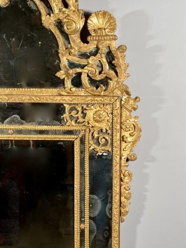 18th century - French fine 18th mirror, Paris Louis XIV period