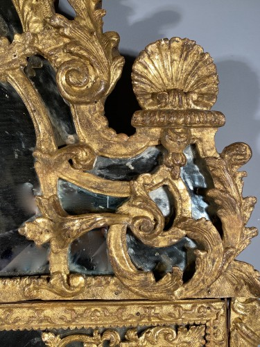 Louis XIV - French fine 18th mirror, Paris Louis XIV period