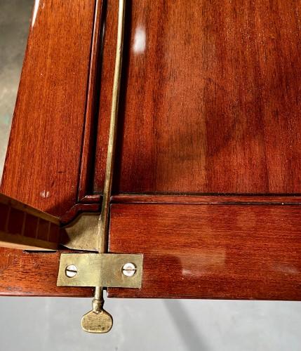 Mahogany architect table by P.Pioniez Paris circa 1780 - Furniture Style Louis XVI