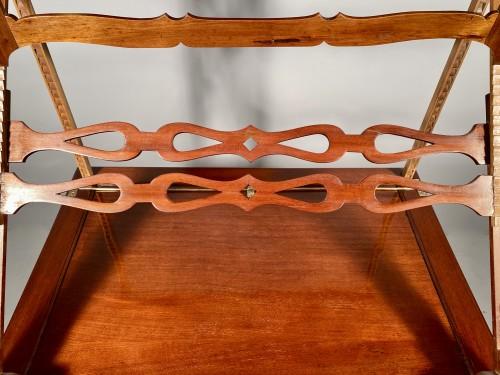Furniture  - Mahogany architect table by P.Pioniez Paris circa 1780