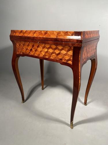 Travel backgammon table by Denizot circa 1770 -