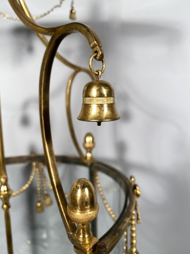 Lantern in pagoda, Paris Louis XVI period - Lighting Style Louis XVI