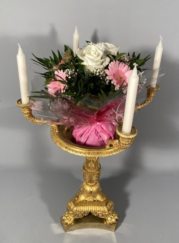Antiquités - Four-light middle candelabra by Thomire circa 1820