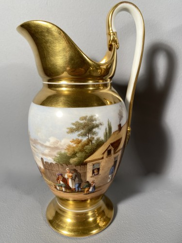 Porcelain coffee service by Marc Schoelcher circa 1820 - Empire