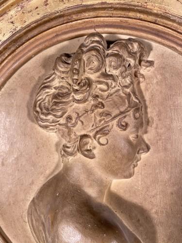 Sculpture  - Juliette Récamier, terracotta, Atelier de Chinard circa 1800