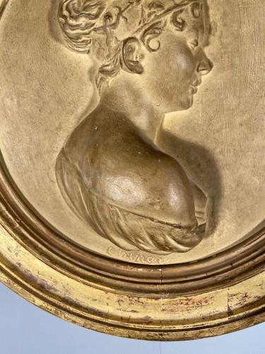 Juliette Récamier, terracotta, Atelier de Chinard circa 1800 - Empire