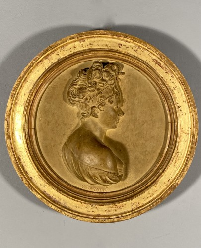 Empire - Juliette Récamier, terracotta, Atelier de Chinard circa 1800