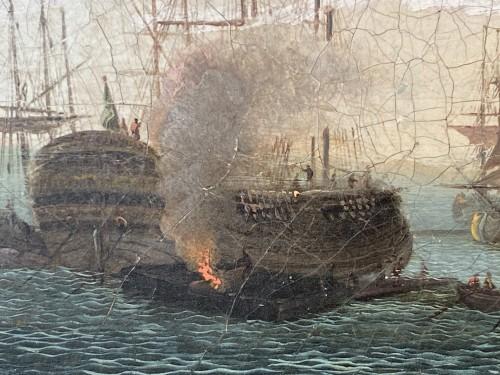 The port of Lorient according to Nicolas Ozanne around 1780 - Louis XVI
