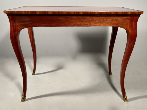 18th coffee table by P. Migeon circa 1750 - Furniture Style Louis XV