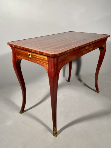 18th coffee table by P. Migeon circa 1750 - Louis XV