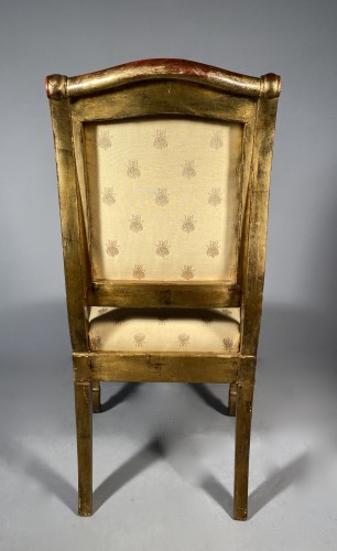 Restauration - Charles X - Pair of chairs for the Duchess of Berry circa 1820