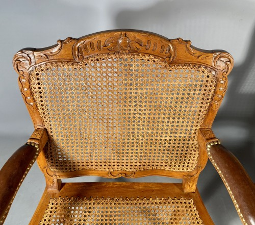 Antiquités - Pair of armchairs by René Cresson, Paris around 1740