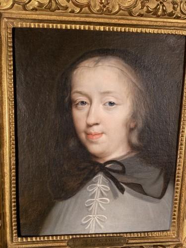 17th The Duchess of Longueville, Workshop of Ph. de Champaigne - Paintings & Drawings Style Louis XIV