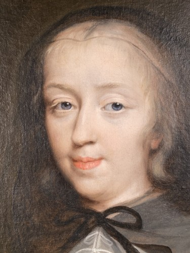 Paintings & Drawings  - 17th The Duchess of Longueville, Workshop of Ph. de Champaigne