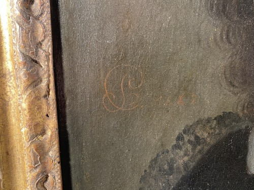 17th century -  Jean Baptiste Colbert, monogrammed CL and dated 1662