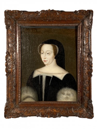 17th, Diane de Poitiers, after F. Clouet