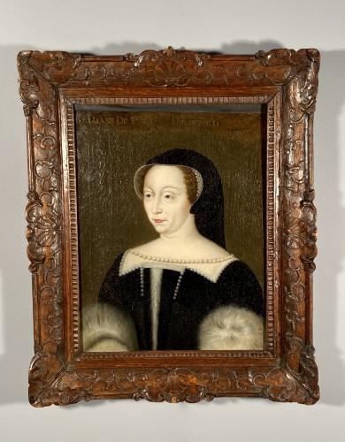 17th, Diane de Poitiers, after F. Clouet -