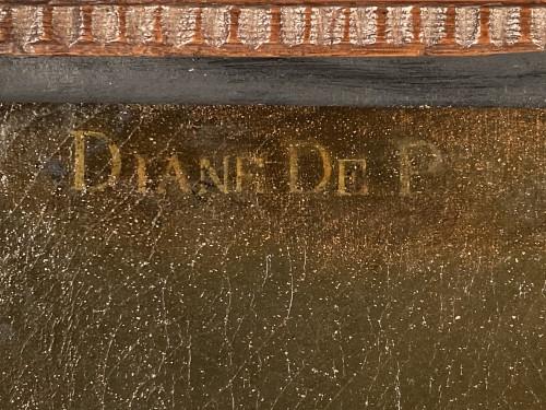 17th century - 17th, Diane de Poitiers, after F. Clouet