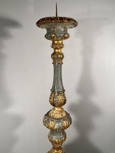 Antiquités - Important palace candles, Provence ep Louis XIV
