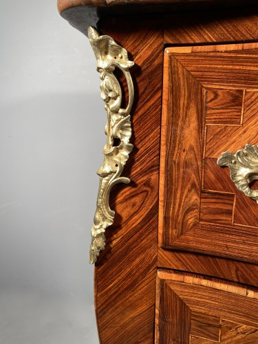 18 th commode stamped P.Paul Charpentier, Paris circa 1750 - Furniture Style Louis XV
